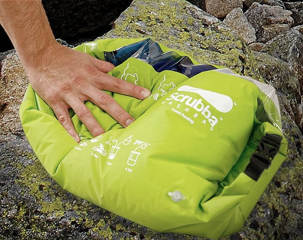 The Scrubba Wash Bag Camping Stuff to